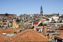 Part of old Porto in Portugal Stock Photography