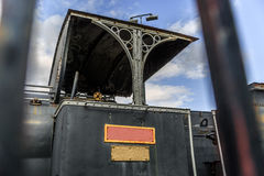Part of an old steam locomotive Stock Photography