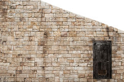 A part of old stone wall Stock Image