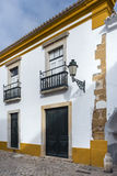Part of the Old Town in Faro, Portugal Stock Photography