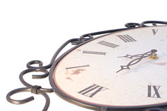 Part of old vintage watch. Close-Up Royalty Free Stock Photo