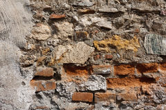 Part of old wall Royalty Free Stock Images