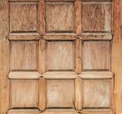Part of old wooden door stock image