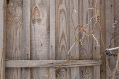 Part of an old wooden wall Royalty Free Stock Photography