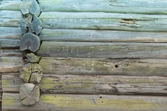 Part of old wooden wall Royalty Free Stock Photo