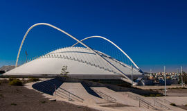 The part of Olympic Athletic Center of Athens Spiros Louis, Greece. Royalty Free Stock Photo