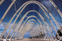 Part of Olympic Stadium. Athens, Greece. Stock Photography
