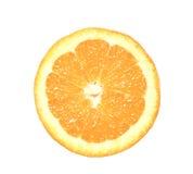 Part orange Image libre de droits