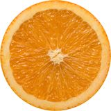 Part orange Images stock