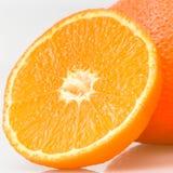 Part orange Images stock