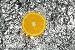 Part orange   Photo stock