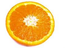 The part of orange. The part of big juicy orange Stock Photo