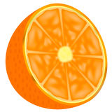 Part of an orange Stock Images