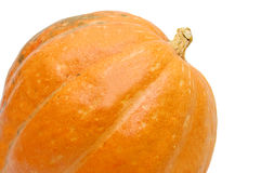 Part of orange pumpkin Stock Images