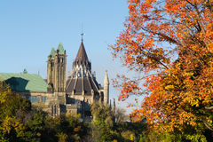 Part of the Ottawa Parliament Buildings Stock Images