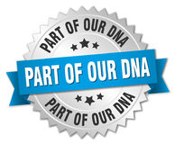 Part of our dna badge Royalty Free Stock Photography