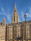 Part of the Palace of Westminster Royalty Free Stock Photography