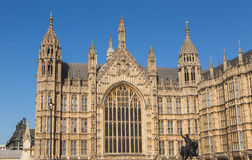 Part of the Palace of Westminster Stock Image