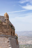 Part of Palamidi medieval fortress, Nafplio, Greece Stock Image
