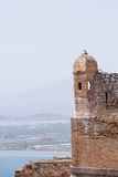 Part of Palamidi medieval fortress, Nafplio, Greece Royalty Free Stock Photo