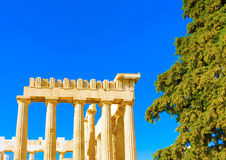 A part of Parthenon Royalty Free Stock Photos