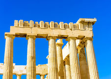 A part of Parthenon Royalty Free Stock Images