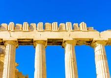 A part of Parthenon Royalty Free Stock Photos