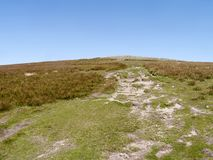 Part of path up to Great Dodd, Lake District Royalty Free Stock Image