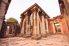 A part of Phimai Historical Park Royalty Free Stock Images