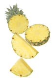 Part of Pineapple Royalty Free Stock Photo