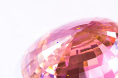 Part of Pink crystal Stock Images