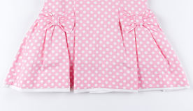 Part of pink dress Stock Photo