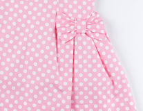 Part of pink dress Royalty Free Stock Photography