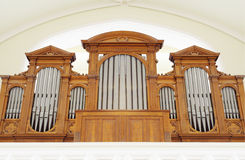 Part of pipe organ Royalty Free Stock Photo