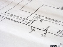 Process diagram Royalty Free Stock Photography
