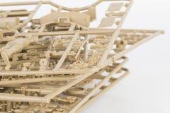 Part of plastic model kit. Royalty Free Stock Image
