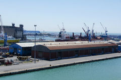 Part of the Port of Livorno, Royalty Free Stock Image