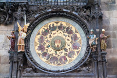 Part Of Prague Clock Stock Images