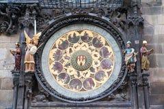 Part Of Prague Clock Stock Images