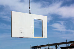 Part of a prefab house. Part of a prefabricated house Stock Photography