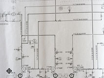 Process diagram Stock Photos