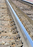 Part of railroad track Stock Images