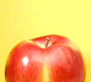 Part of a red apple Royalty Free Stock Photos