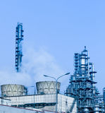 Part of refinery complex Royalty Free Stock Photos