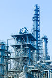 Part of refinery complex Royalty Free Stock Images