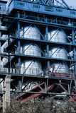 Part of refinery complex Stock Photography