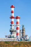 Part of refinery complex Stock Images