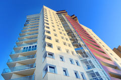 Part of residential building Stock Images