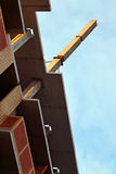 Part of residential building under construction Stock Photo