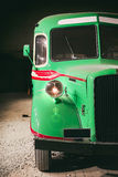 Part of retro style bus. Toned. Stock Images